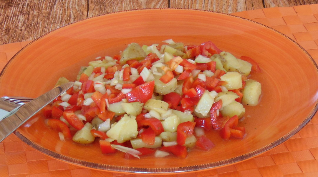 Paprika-Kartoffel-Salat